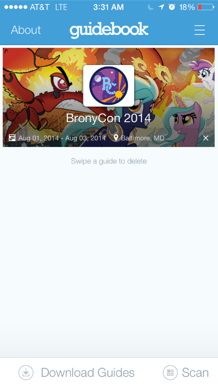 Guidebook is the path to a better life at BronyCon.