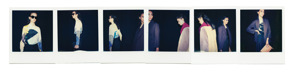 First looks at 3.1 Phillip Lim with the Impossible Project for Flaunt Magazine photographed by Kate Owen photographer
