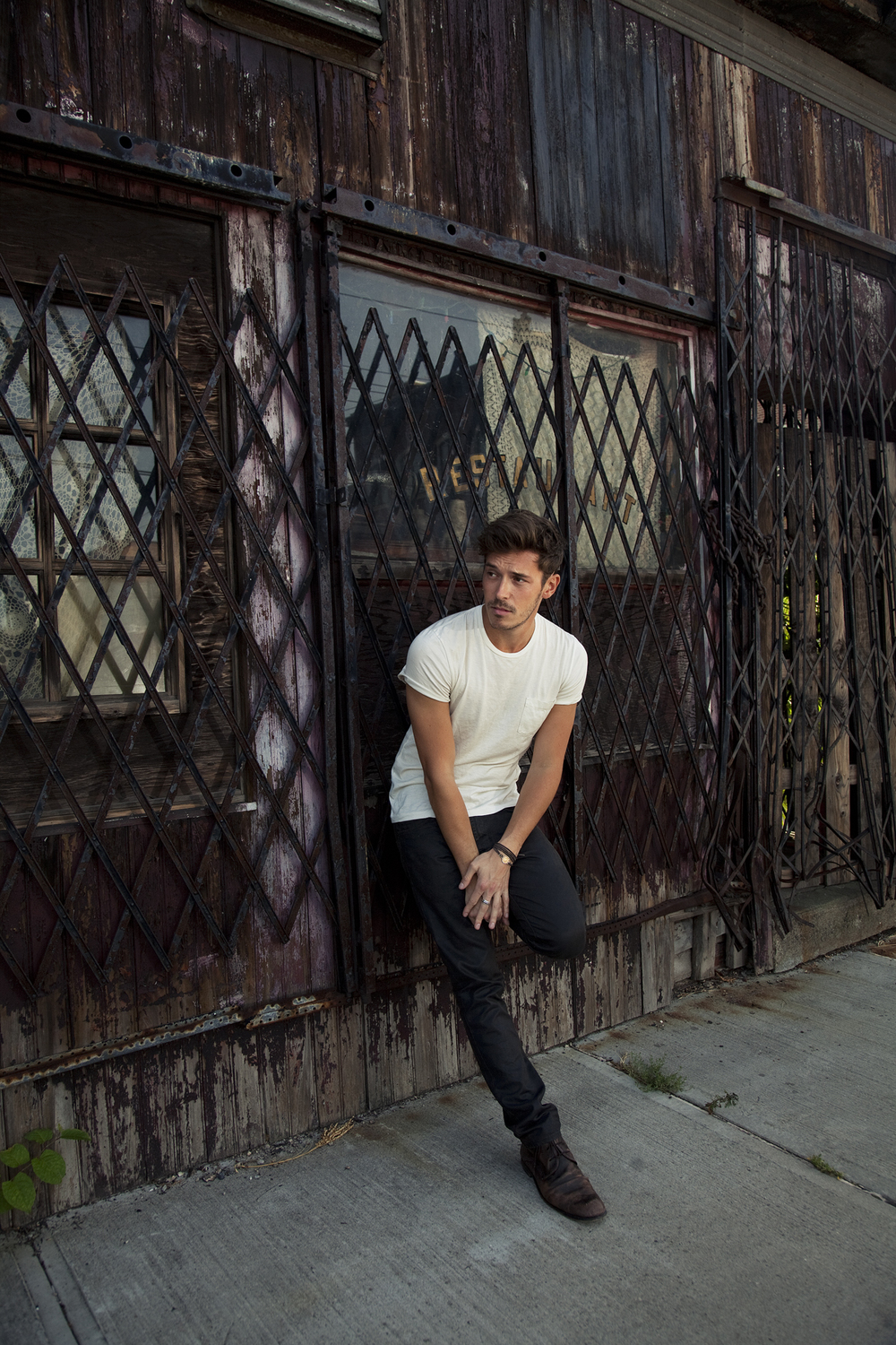 Sam Palladio Interview Magazine photographed by Kate Owen photographer