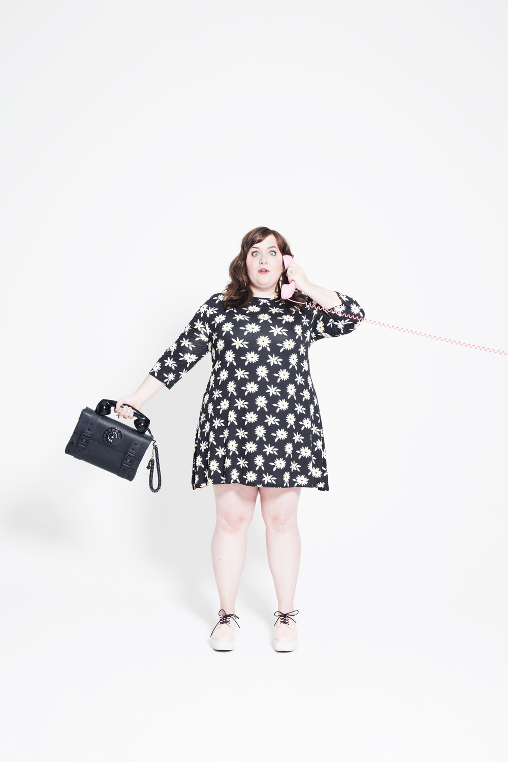 Aidy bryant for Paper Magazine photographed by Kate Owen photographer