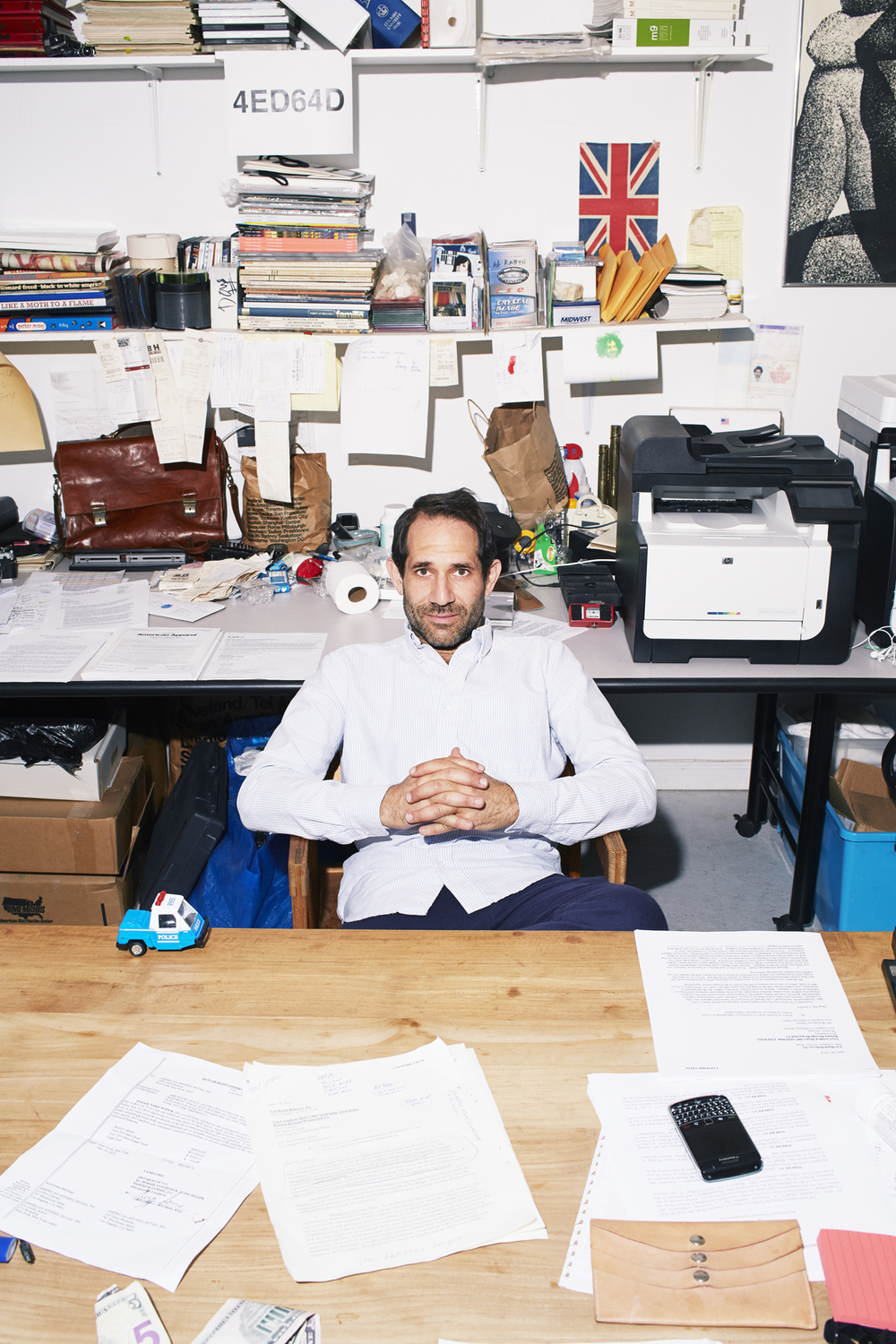 Dov Charney American Apparel Financial Times FT photographed by Kate Owen photographer