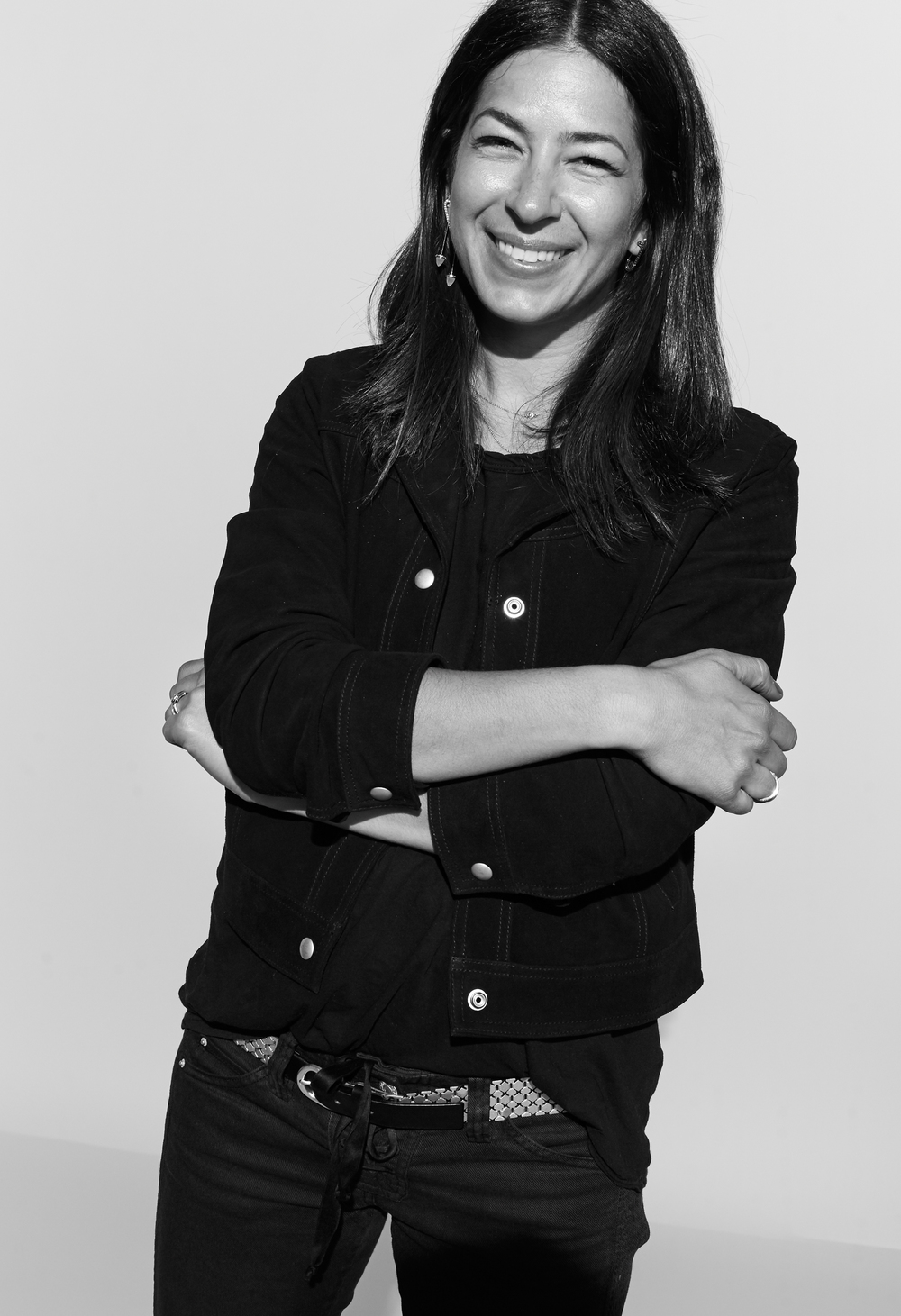 Rebecca Minkoff photographed by Kate Owen black and white portrait #powertrip