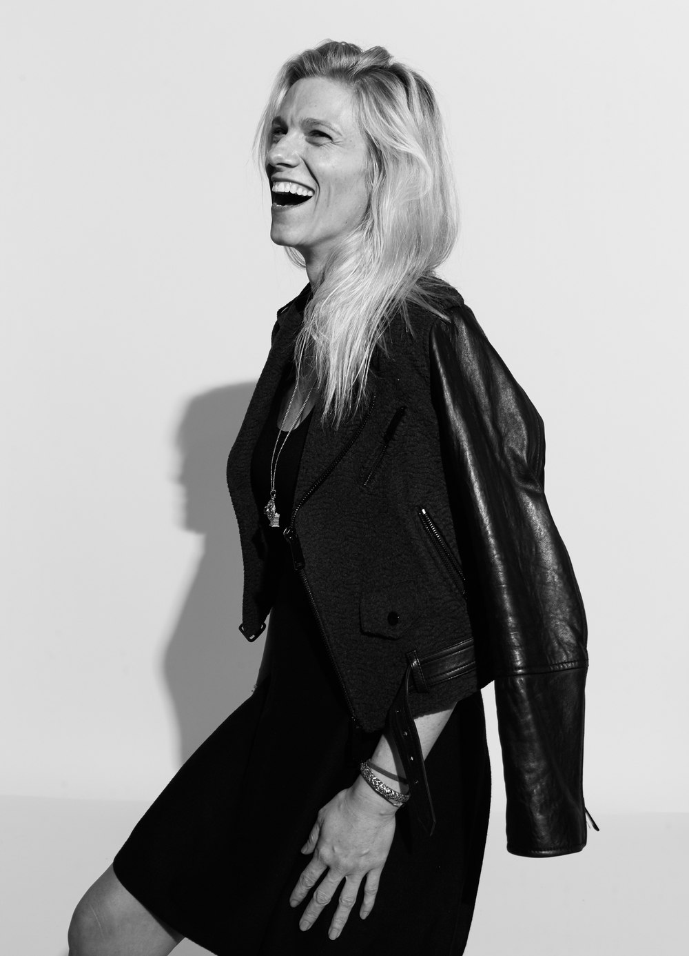lindsay shookus photographed by Kate Owen black and white portrait #powertrip
