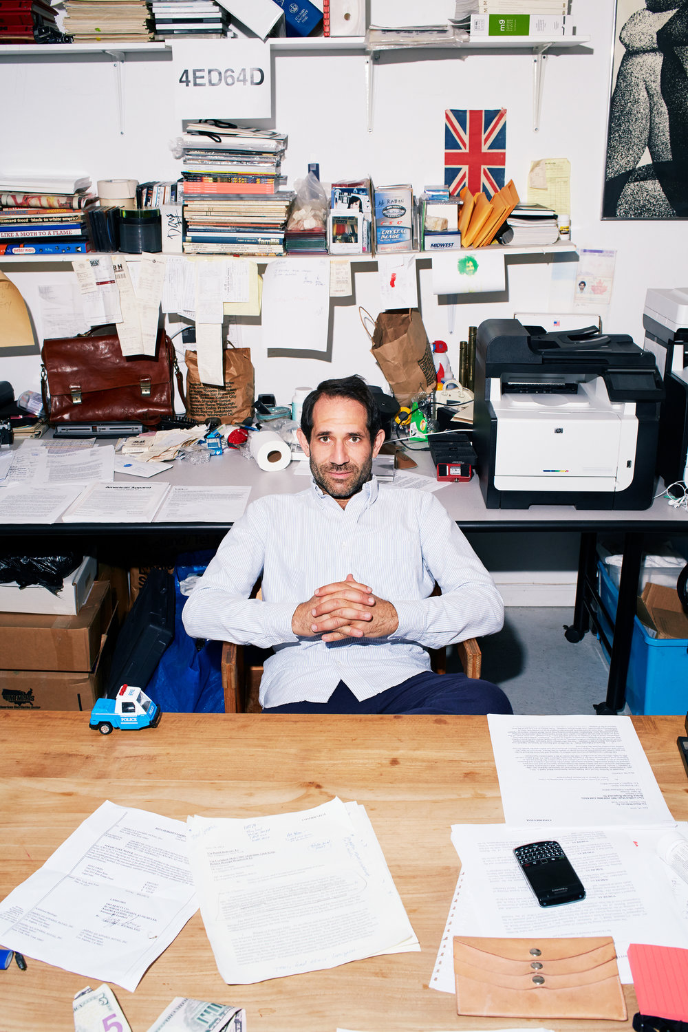 KATE OWEN | DOV CHARNEY // THE FINANCIAL TIMES