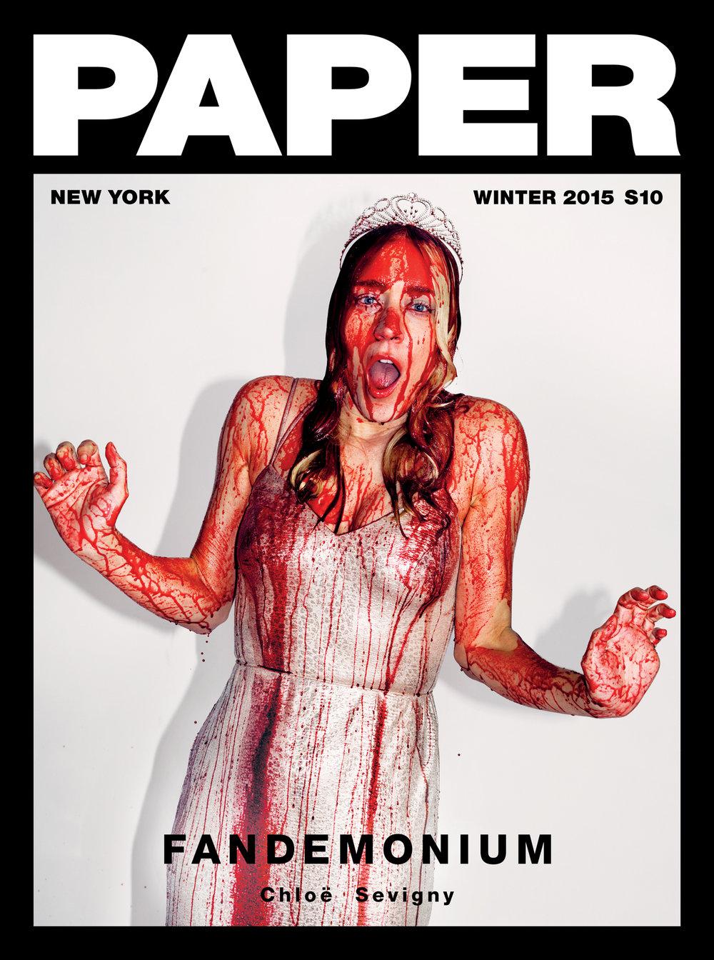 KATE OWEN | CHLOE SEVIGNY // PAPER MAG COVER STORY