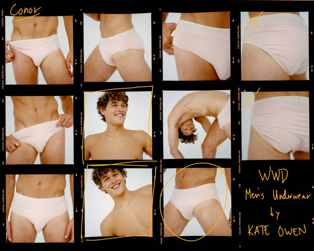 KATE OWEN | WWD // MEN'S UNDERWEAR