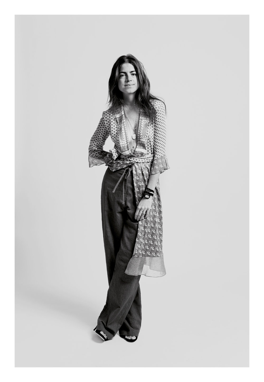 KATE OWEN | LEANDRA MEDINE MAN REPELLER | BLACK AND WHITE PORTRAIT