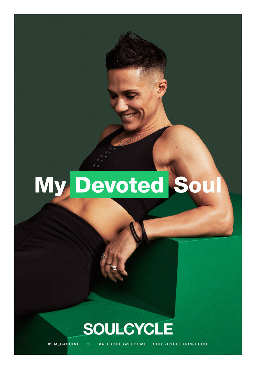 KATE OWEN | SOULCYCLE | GAY PRIDE | ALL SOULS WELCOME