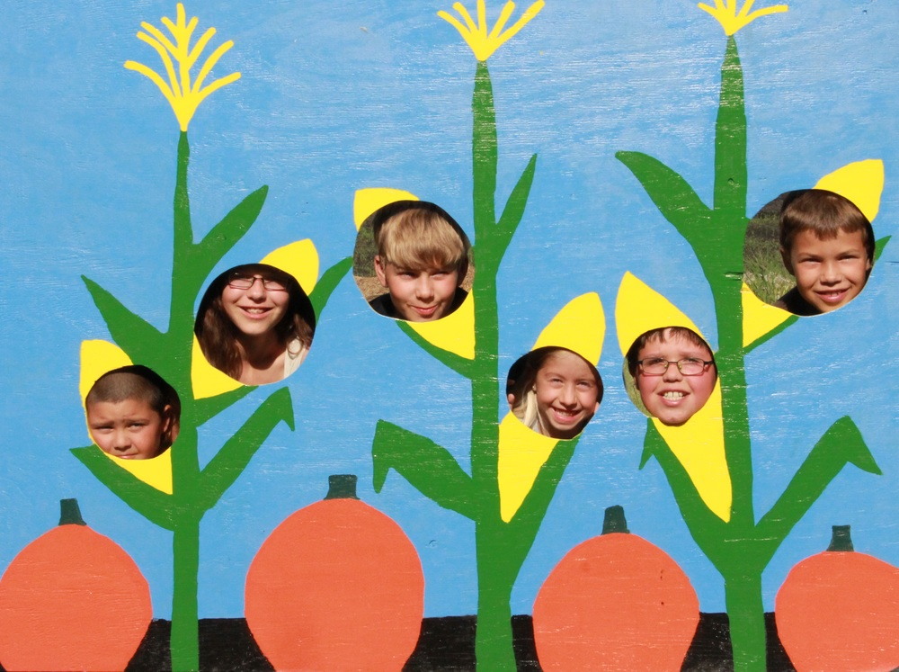 "Capture the memory with a ""corny"" picture!"