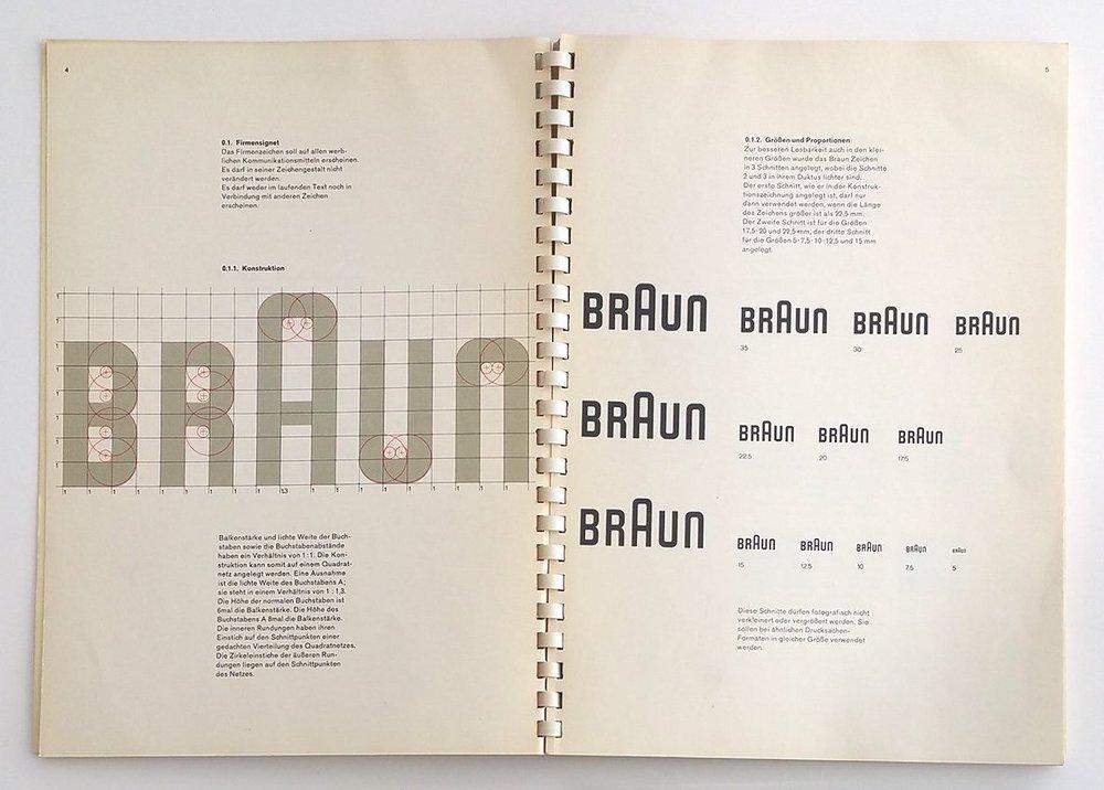 El restyling del logotipo, obra de Otl Aicher, es toda una declaración de principios formales.