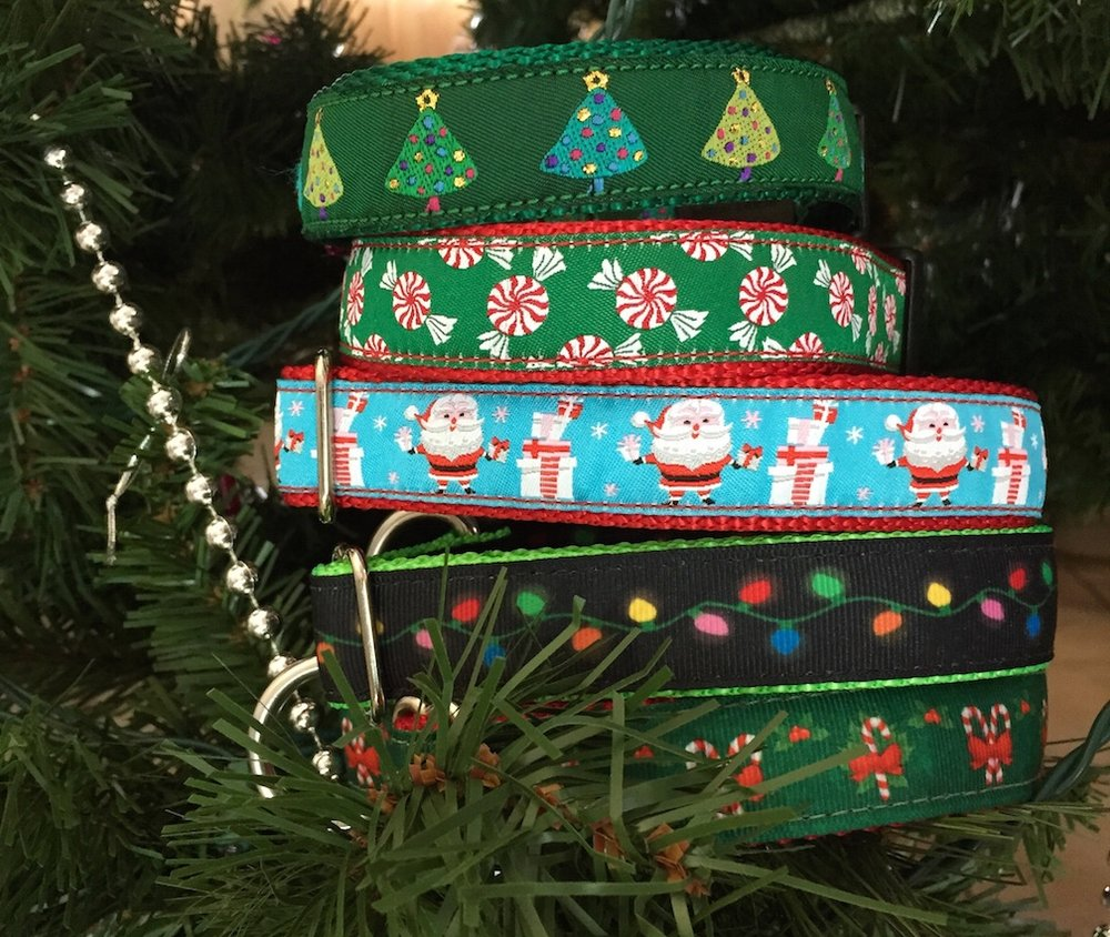Christmas Ribbon Collars