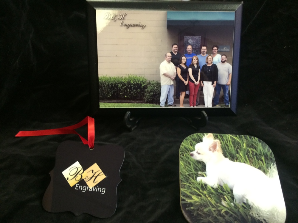 Sublimated Plaque, Ornament and Coaster
