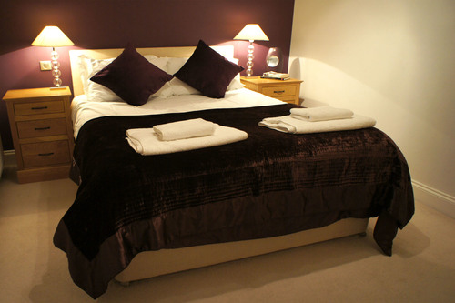 One of the six en-suite bedrooms