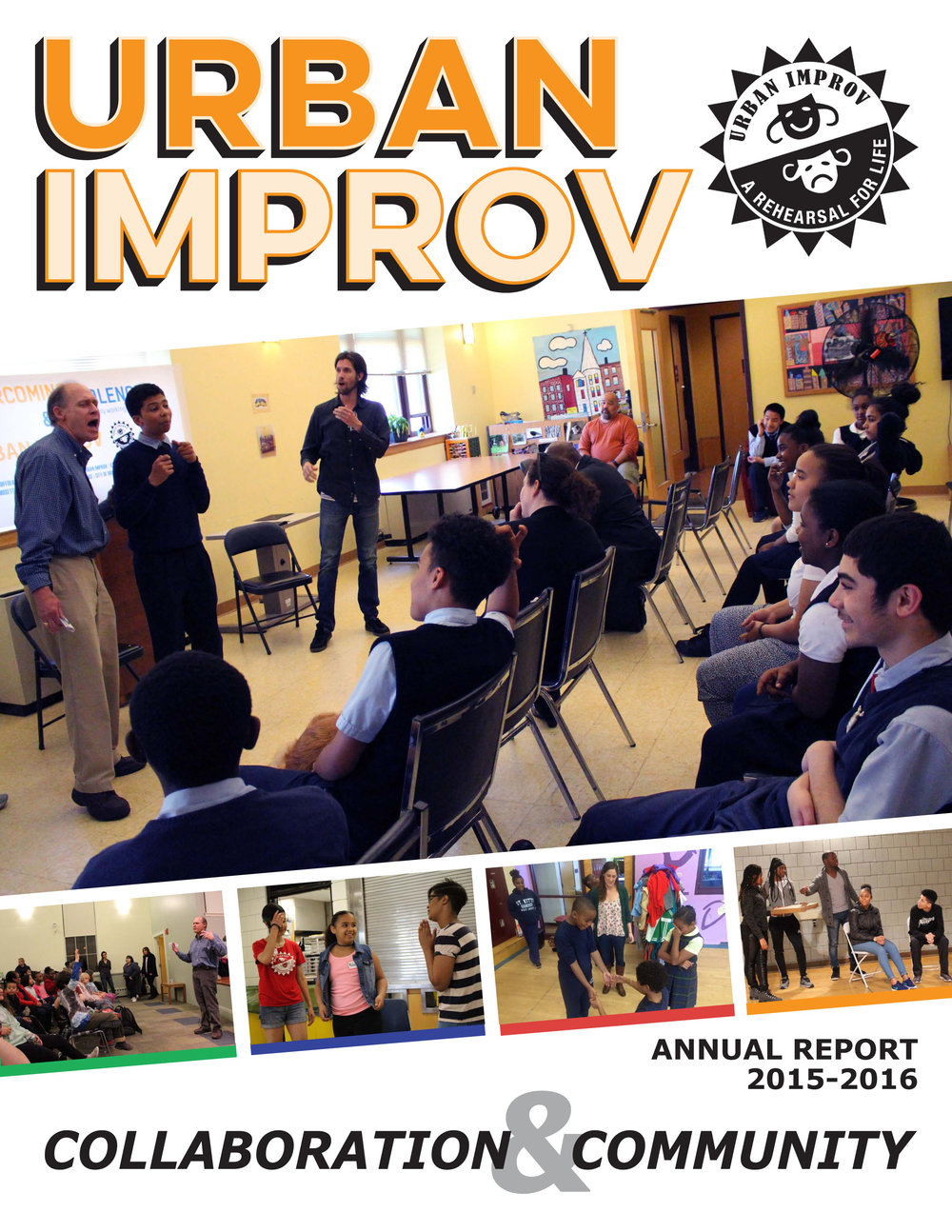 Download Urban Improv's 2016 Annual Report