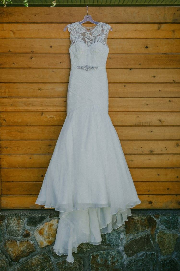 Wedding Dress. Victoria B.C