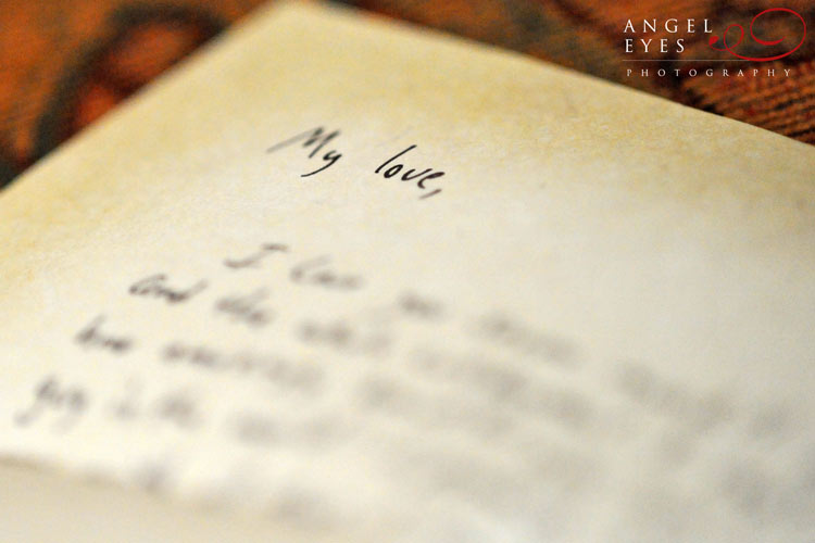 Write a note to your future spouse