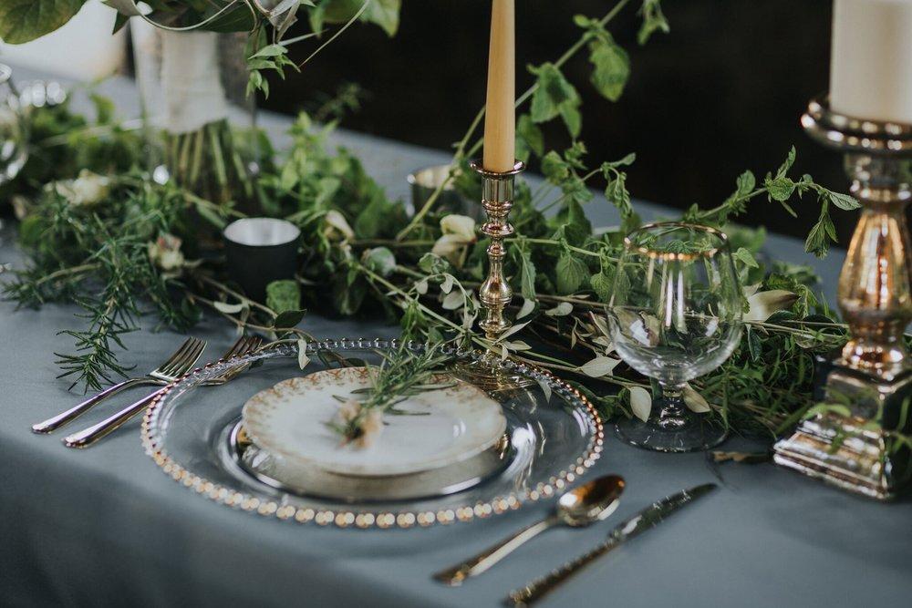 Photographer: Myrtle & Moss Photography Florist: Platinum Floral Designs Decor: Details BC