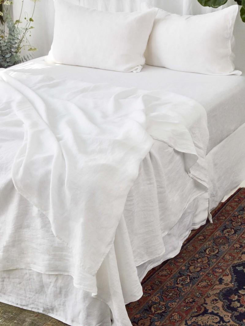 Vintage Linen Sheet  Set