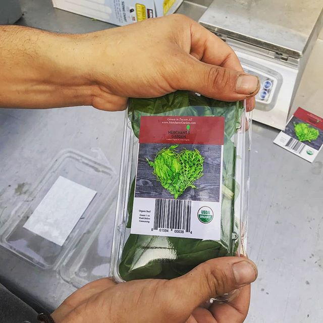 1oz basil headed to Ajs and Whole Foods!!! #greens #sustainability #tucson #eatlocal #lettuce #salad #sustainability #arizonagrown #azgrown #organic #usdaorganic #usda