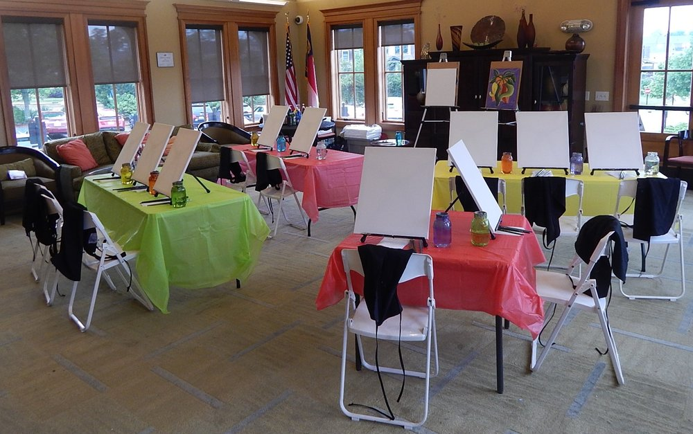 051518 Briar Chapel Clubhouse Afterschool Art And More