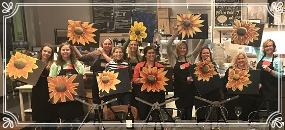 Paint & Sip Events Gallery -