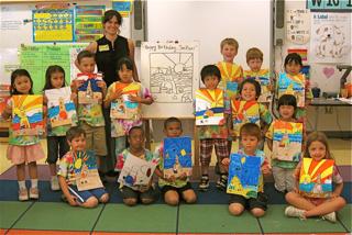 Art Party At School