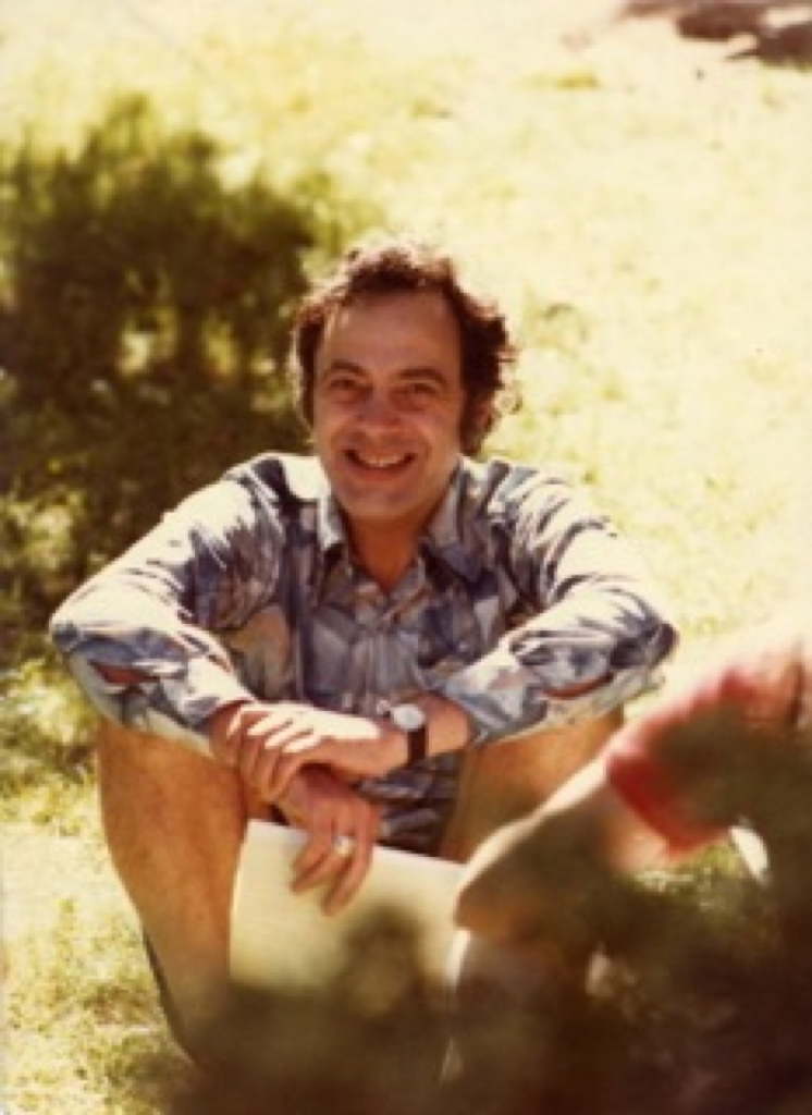 Gene Gendlin, Philosopher & Psychotherapist in the 70's when he first developed focusing.
