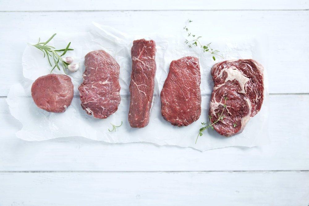 God jernkilde . Rødt kjøtt og innmat er en av de beste jernkildene våre. Foto:  matprat.no