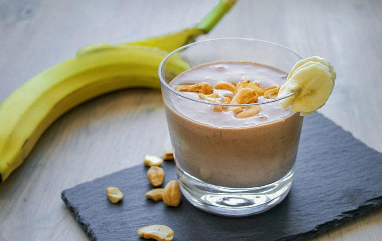 peanøttsmoothie peanøtt banan kakao