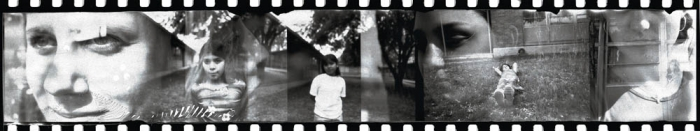 West Side / East Side, ATX - a collaborative double exposure project featuring high school girls from Saint Andrews Episcopal School and 4th grade girls from Andrews Elementary