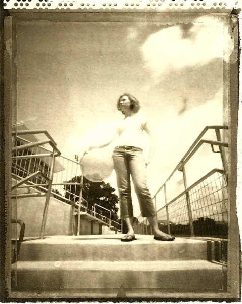 P4 workshop- Polaroid/Pinhole/Platinum/Palladium, Saint Andrews High School, Austin, TX