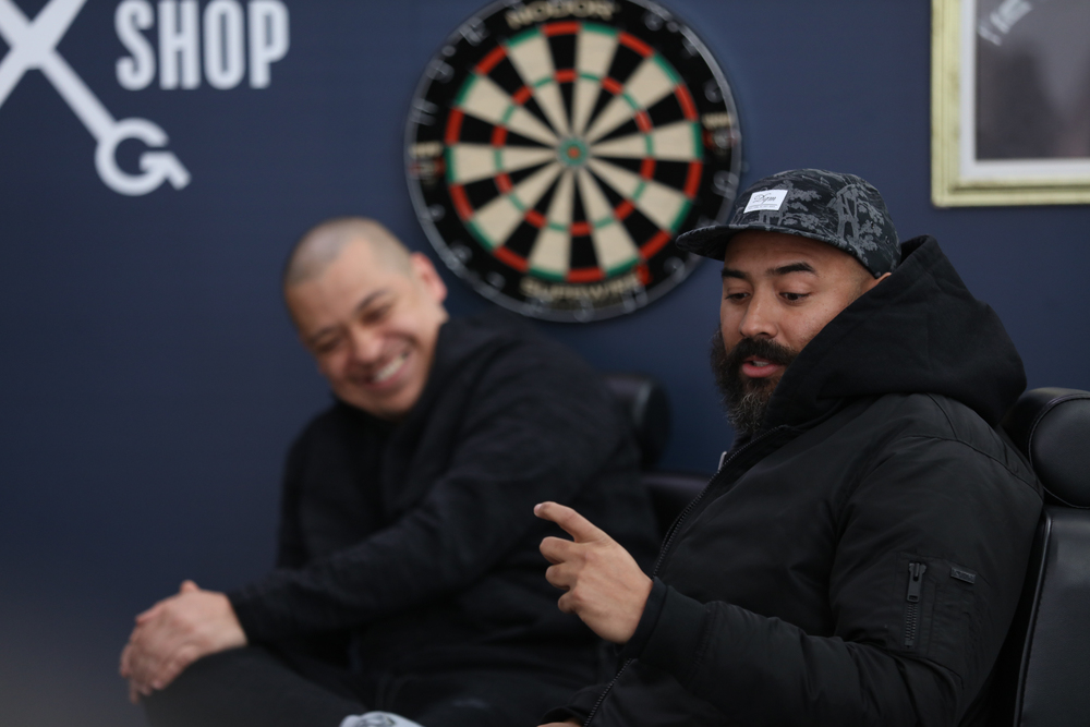 PR & Ebro at The Shop
