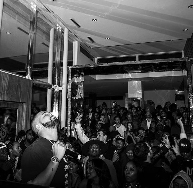 Drake performs at House Of Tings