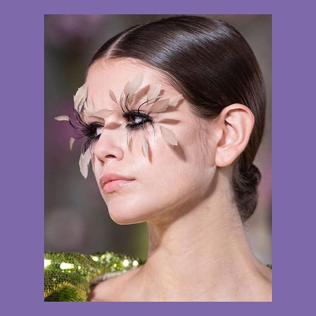 Lashes lashes! Always so good @patmcgrathreal and oh what a show @maisonvalentino #thoselashestho #patmcgrathreal #parisfashionweek2019