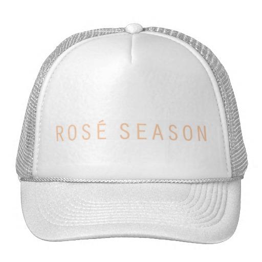 ROSÉ SEASON HAT - $17.95