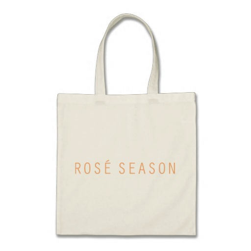 ROSÉ SEASON TOTE BAG - $15.95