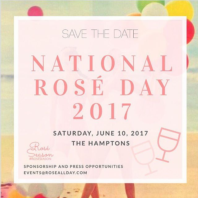 - Now selling early bird tickets!  Ticket includes unlimited rosé, specialty cocktails and passed appetizers.