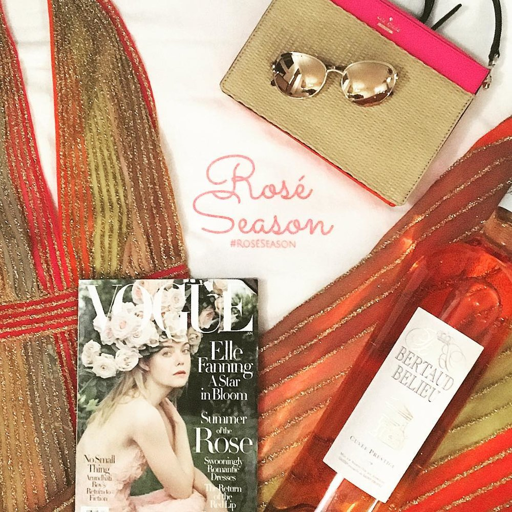 Rose Season Influencer Marketing Post Example on Instagram
