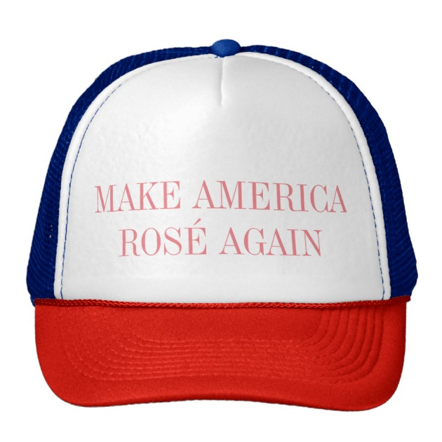 make america rose again trucker mesh hat