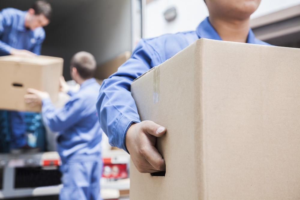 Moving Boxes into Condo