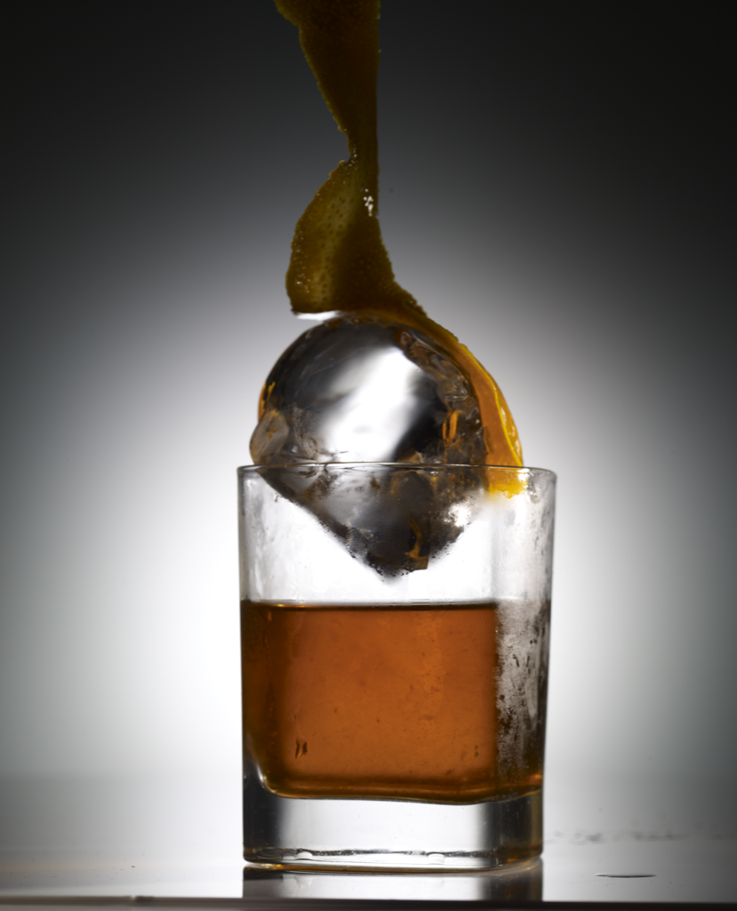 Old Fashioned on the Rock