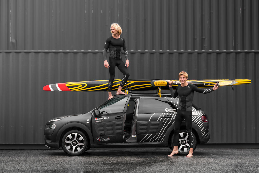 Eivind and Amund Vold for Citroën -