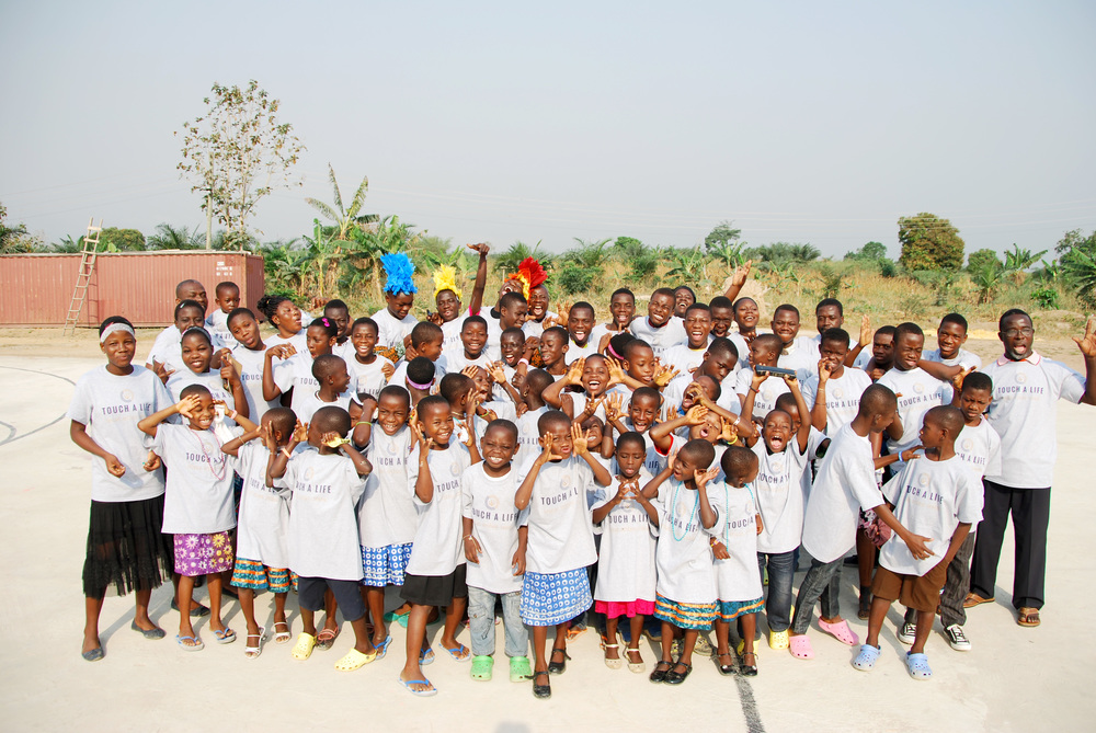 The children who live at Touch A Life's Care Center in Ghana, West Africa.
