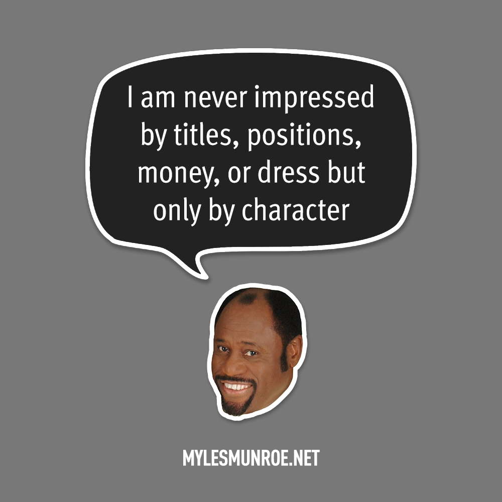 Myles Munroe Quote # 124