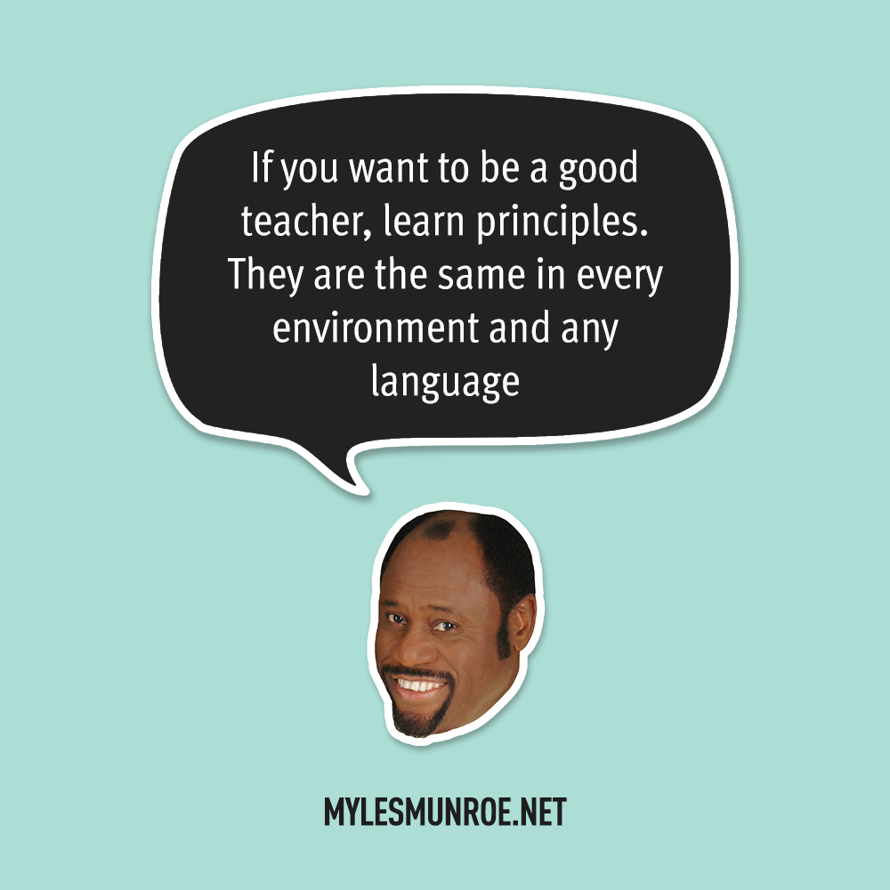 Myles Munroe Quote # 125