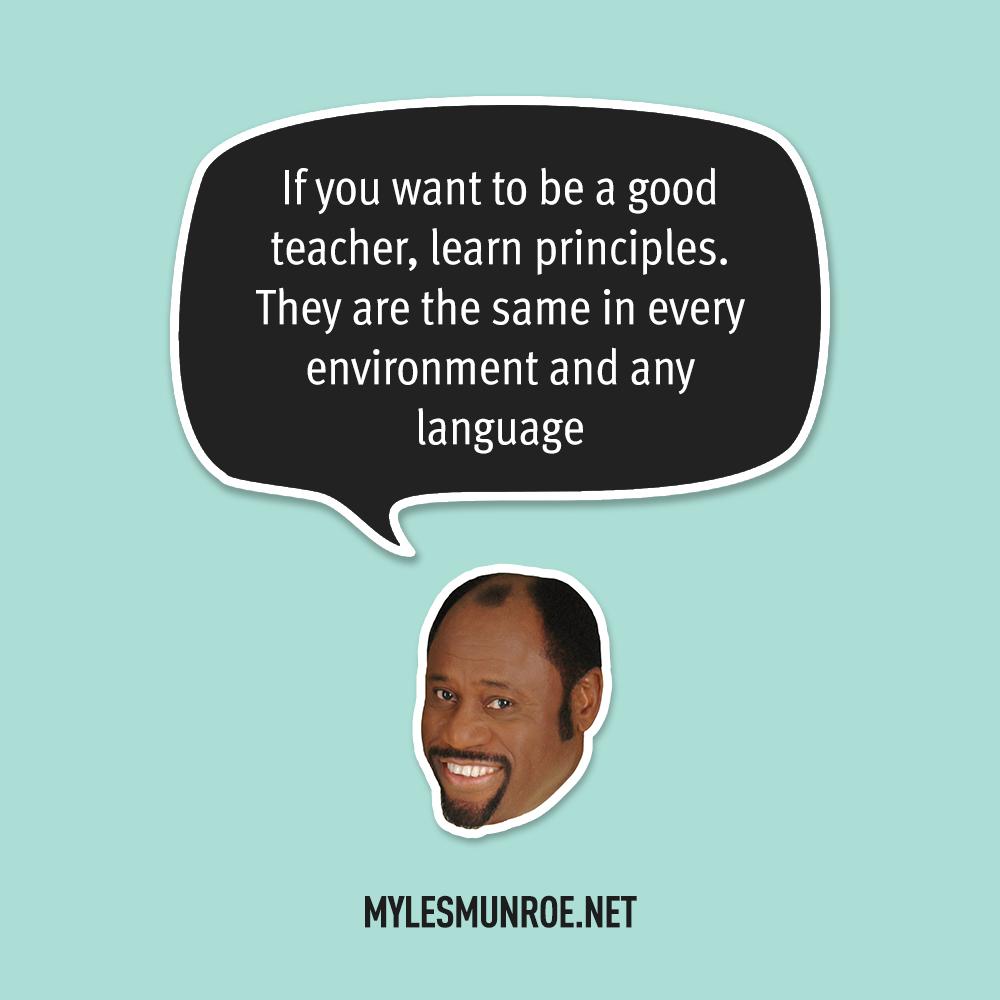 Myles Munroe Quote # 125