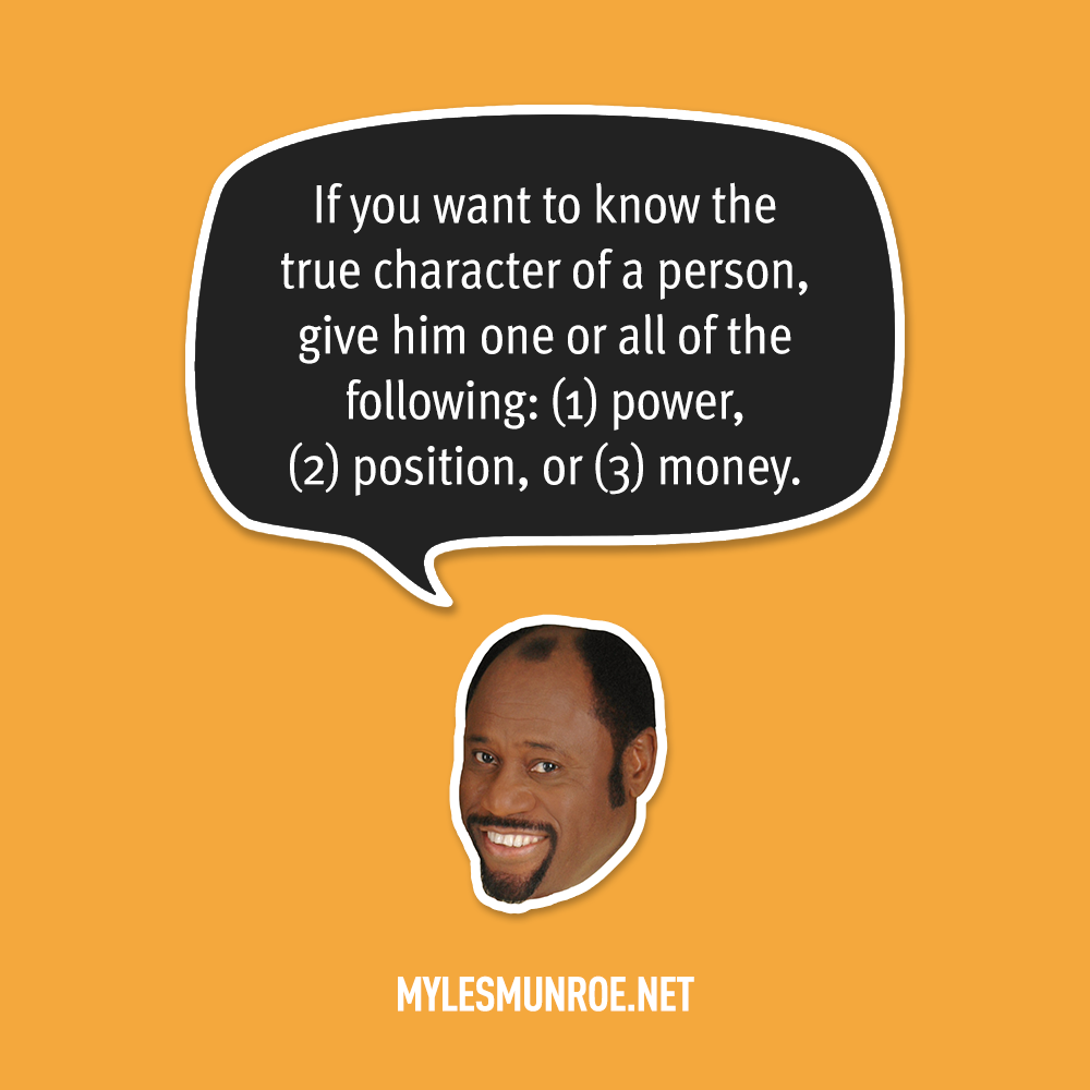 Myles Munroe Quote # 130