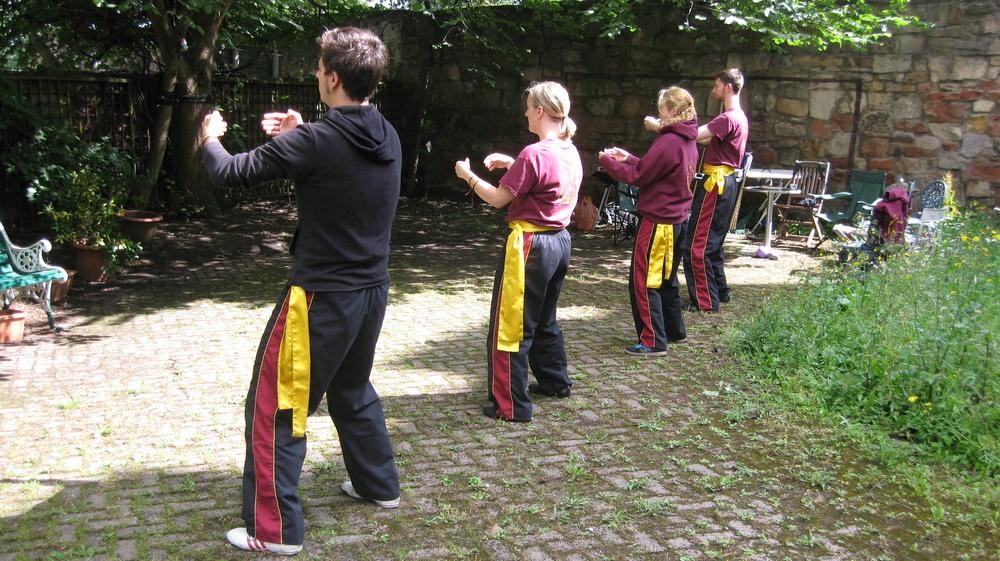 Standing Qi Gong