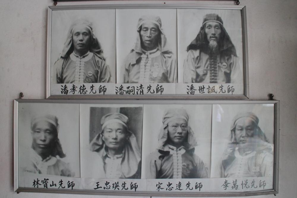 Yong Chun White Crane ancestors