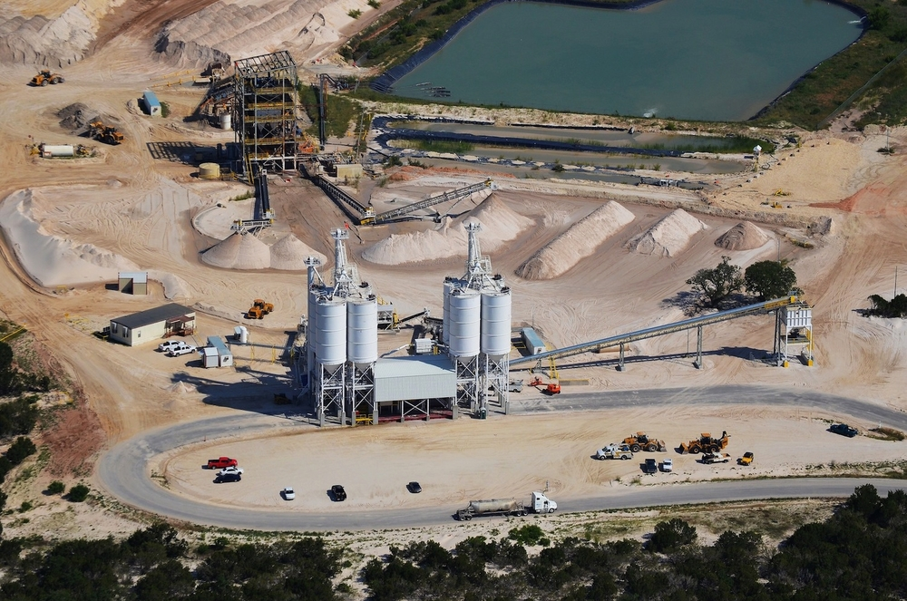 Mining Industry Aerial Photography